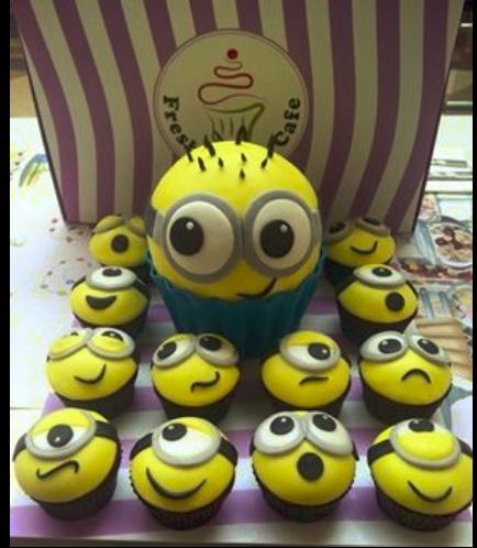Cake - Mega Cupcake & Cupcakes