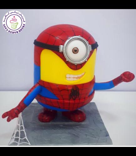 Cake - 3D Cake - Spider-Man