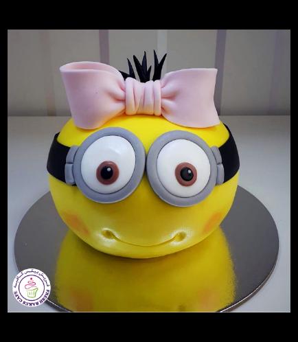 Cake - 2D Head - Round Cake 01