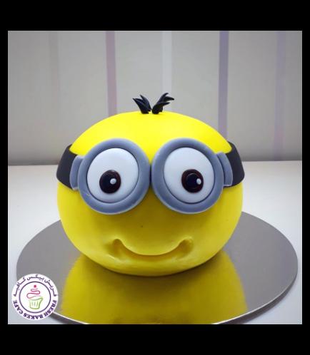 Cake - 2D Head - Round Cake 02