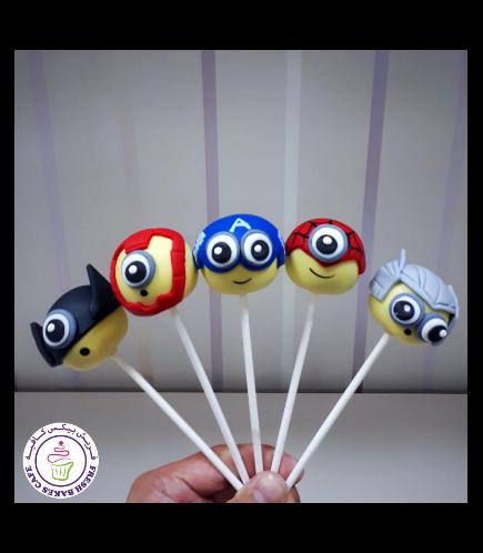 Cake Pops - Superheroes