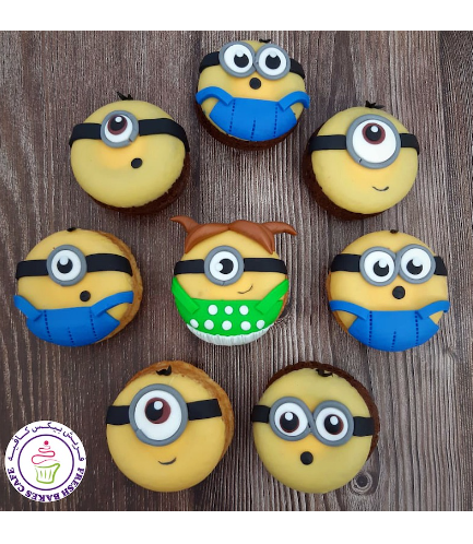 Minions Themed Donuts 01