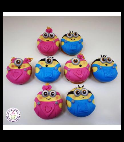 Minions Themed Donuts 5b
