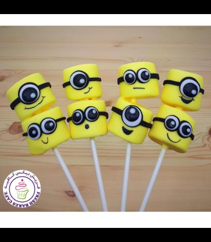Minions Themed Marshmallow Pops 02