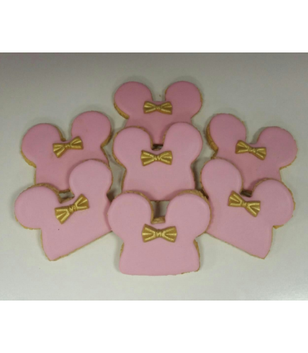 Minnie Mouse Themed Cookies 03