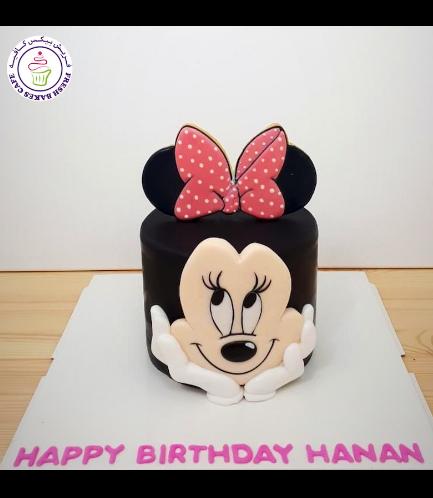 Minnie Mouse Themed Cake - Head - 2D Cake 02