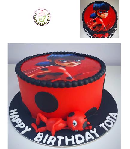 Miraculous Ladybug Themed Cake
