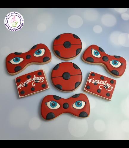 Miraculous Ladybug Themed Cookies 02