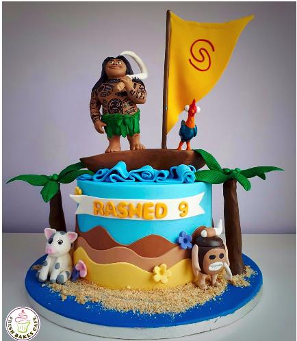 Maui Themed Cake 02