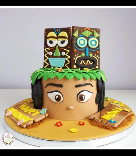Moana Themed Cake 10