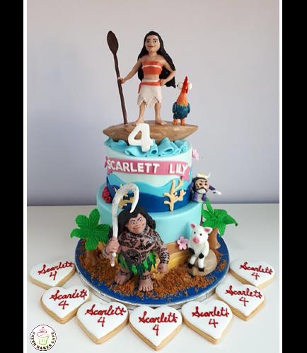 Moana Themed Cake 13