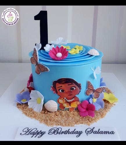Moana Themed Cake 15