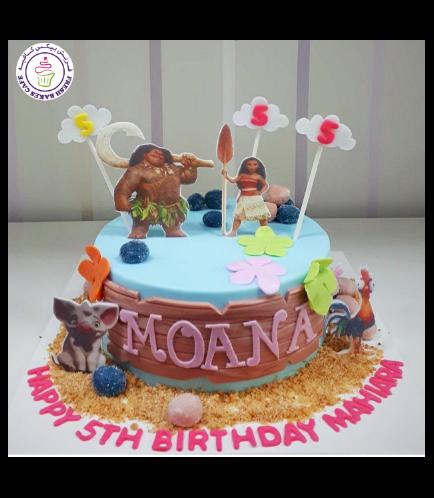 Moana Themed Cake 16