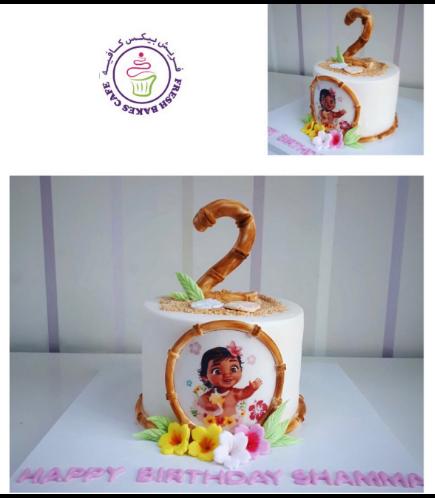 Moana Themed Cake 17