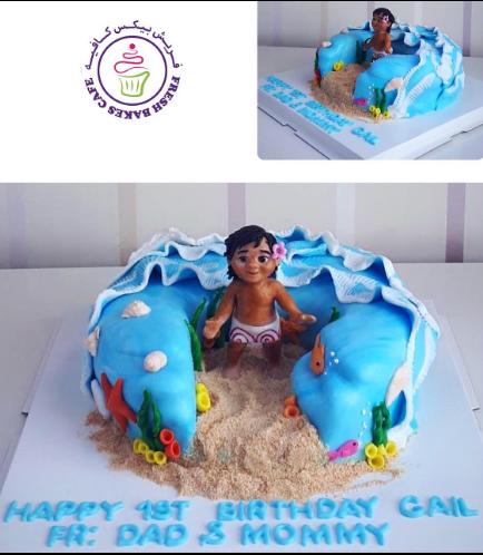 Moana Themed Cake 18a