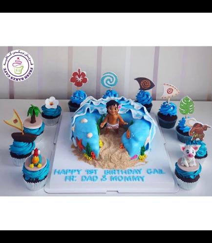 Moana Themed Cake 18b