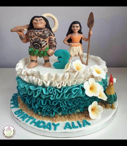 Moana Themed Cake 02