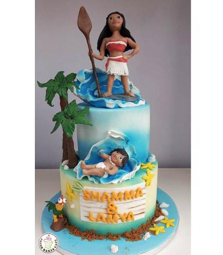 Moana Themed Cake 05