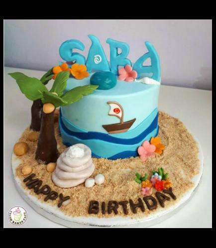 Moana Themed Cake 08