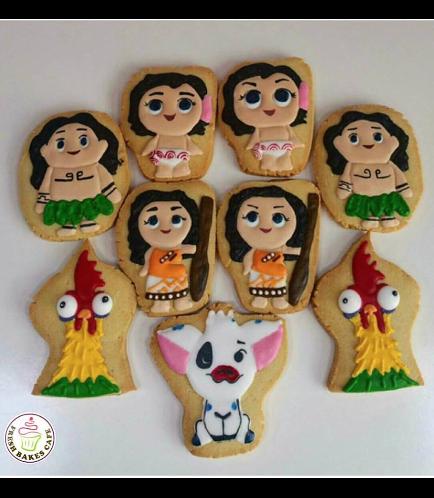 Moana Themed Cookies 01