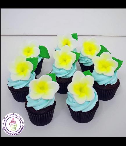 Cupcakes - Plumeria
