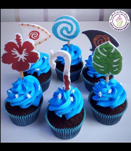 Moana Themed Cupcakes 02