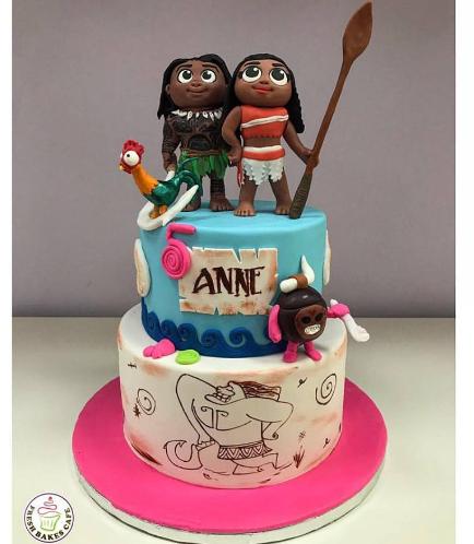 Moana Themed Cake 04