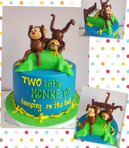 Monkey Themed Cake 04