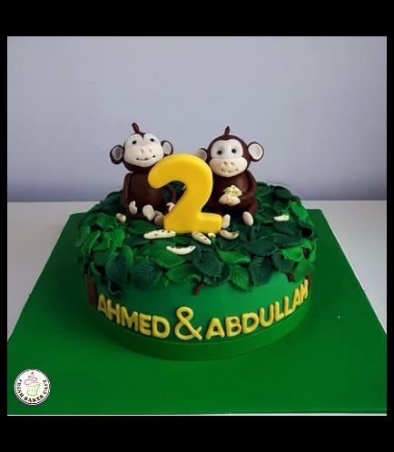 Monkey Themed Cake 08a