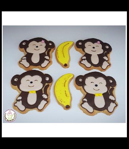 Monkey Themed Cookies