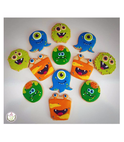 Monster Themed Cookies 2