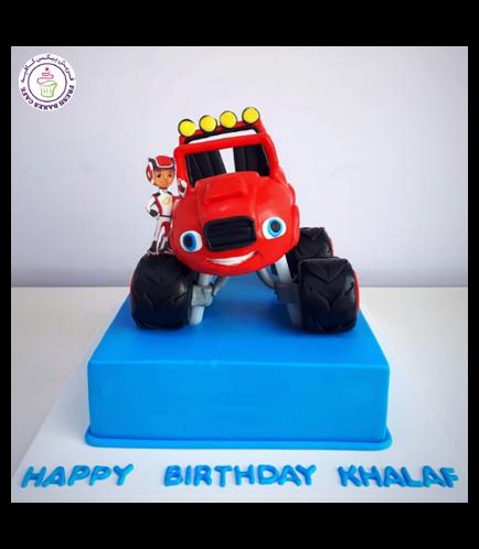 Monster Truck Themed Cake 02a