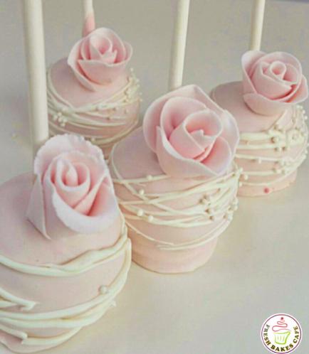 Cake Pops - Roses 05