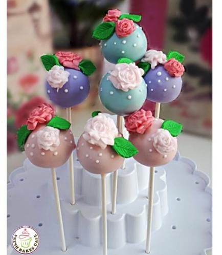 Cake Pops - Roses 06