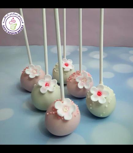 Cake Pops - Cherry Blossom