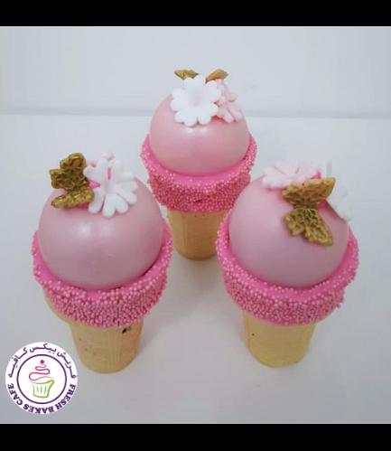 Cone Cake Pops - Butterflies & Flowers 02