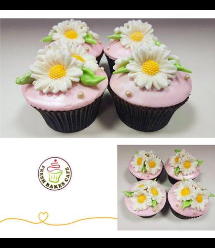 Cupcakes - Daisies
