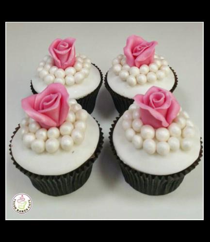 Cupcakes - Roses & Pearls 02
