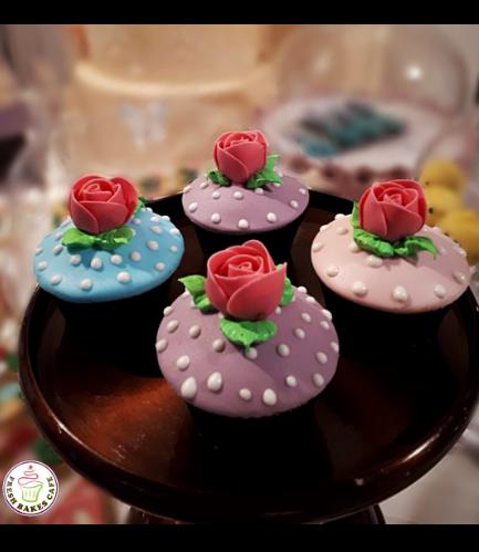 Cupcakes - Roses 02