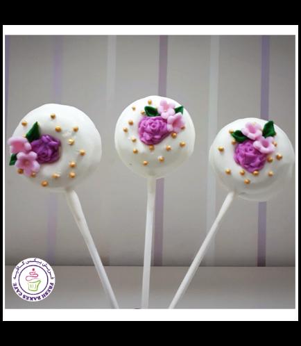 Roses Themed Donut Pops