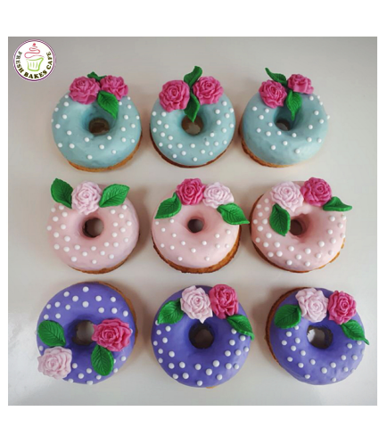 Roses Themed Donuts 01