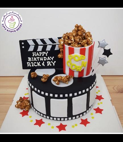 Movie Themed Cake 05