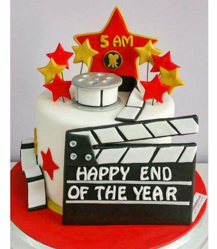 Movie Themed Cake 02