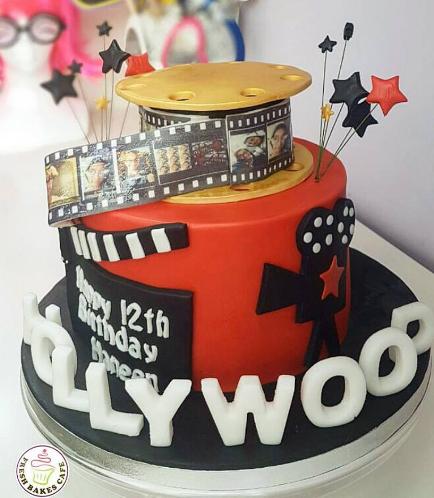 Movie Themed Cake 03