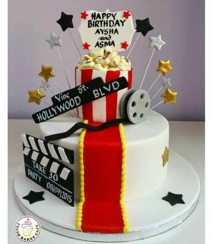 Movie Themed Cake 01