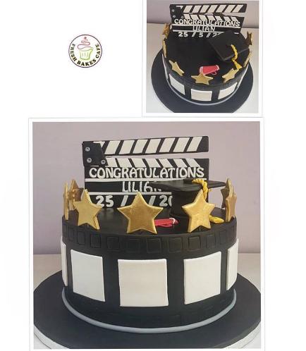 Movie Themed Cake 04