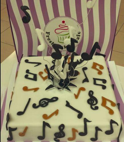 Music Themed Cake 1