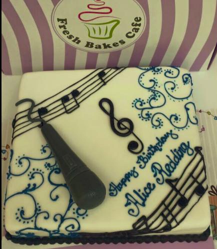 Music Themed Cake 2