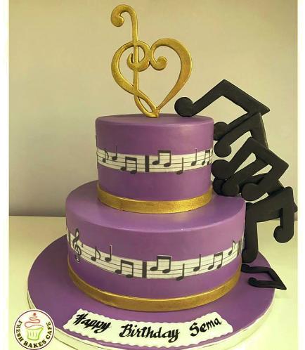 Music Themed Cake 6