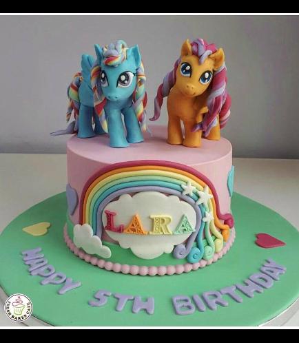My Little Pony Themed Cake 12